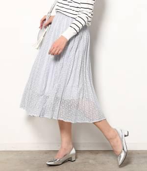 ROPÉ PICNIC - ロペピクニック | 【今だけ!WEB店舗限定50%OFF】キカレースプリーツフレアースカート