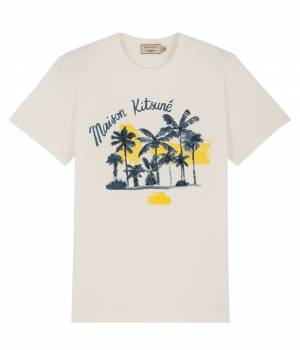 MAISON KITSUNÉ PARIS MEN - メゾン キツネ メン | TEE SHIRT OASIS