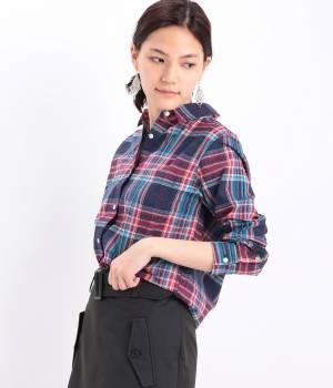 LE JUN WOMEN - ル ジュン  ウィメン   インドマドラスチェックシャツ