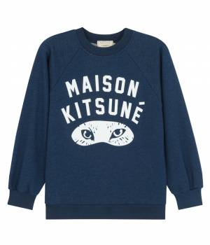MAISON KITSUNÉ PARIS WOMEN - メゾン キツネ ウィメン | SW INDIGO FOX EYES