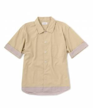 JUNRed - ジュンレッド | 裾レイヤードスクエアシャツ