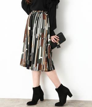 ViS - ビス | レトロストライプスカート