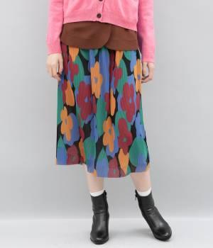ADAM ET ROPÉ FEMME - アダム エ ロペ ファム   【Samuji for ADAM ET ROPE'】Salan Skirt