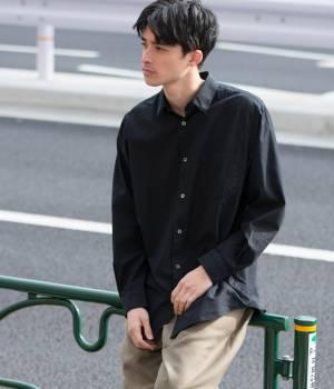 ADAM ET ROPÉ HOMME - アダム エ ロペ オム   【先行予約】コットンシルクシャツ