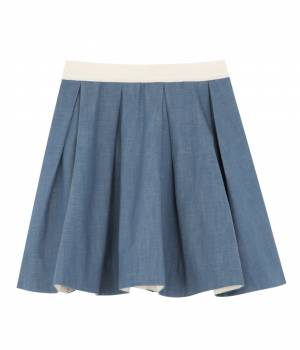 MAISON KITSUNÉ PARIS WOMEN - メゾン キツネ ウィメン | Colored Denim Skirt