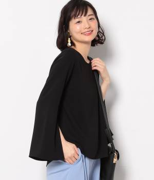ViS - ビス | 【今だけ!WEB店舗限定10%OFF】羽根ネックレス付きフレア袖プルオーバー