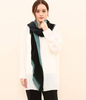 SALON adam et ropé WOMEN - サロン アダム エ ロペ ウィメン | 【MOIS MONT】COLOR BLOCK STOLE