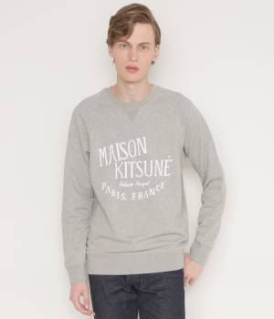 MAISON KITSUNÉ PARIS MEN - メゾン キツネ メン | PERM SWEAT SHIRT PALAIS ROYAL