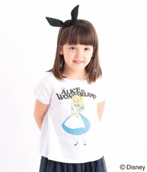 ROPÉ PICNIC KIDS - ロペピクニック キッズ | 【ROPE' PICNIC KIDS】ALICE(アリス)プリントTシャツ