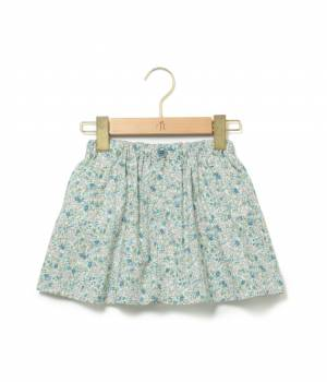 ROPÉ PICNIC KIDS - ロペピクニック キッズ | 【ROPE' PICNIC KIDS】フラワープリントパンツ付スカート