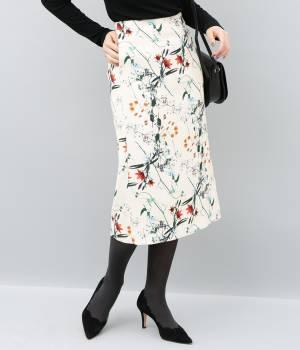 ADAM ET ROPÉ FEMME - アダム エ ロペ ファム | 【10%OFF Campaign】【AZU KIMURA×ADAM ET ROPE'】flower printed skirt