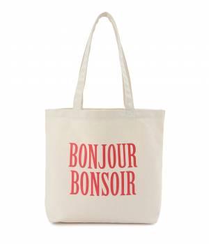 bonjour records - ボンジュールレコード | 【bonjour bonsoir 】GRAPHIC EASY TOTE