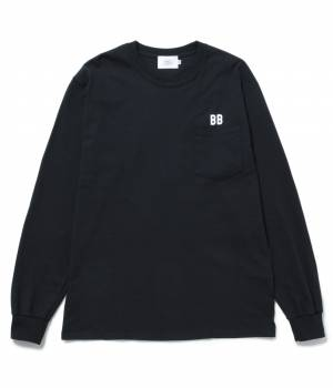 bonjour bonsoir - ボンジュールボンソワール | 【bonjour bonsoir】BB POCKET LONG SLEEVE