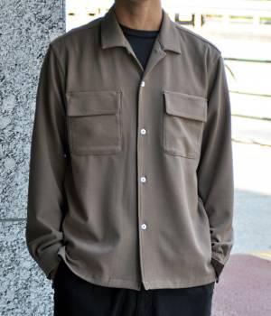 JUNRed - ジュンレッド   【samuraiELO 11月号掲載】2WAYストレッチオープンカラーシャツ
