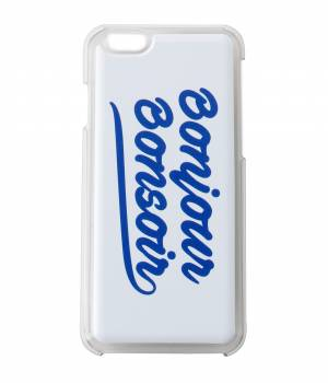 bonjour bonsoir - ボンジュールボンソワール | 【bonjour bonsoir】iPhone 6S CASE SMOOTH LOGO