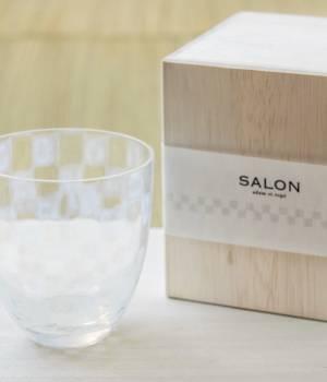 SALON adam et ropé HOME - サロン アダム エ ロペ ホーム | 【廣田硝子 for SALON】市松タンブラー 箱入り