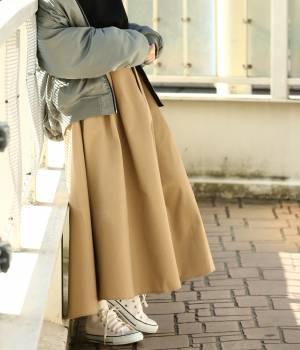ViS - ビス | 【予約】【WEB限定】チノボリュームスカート