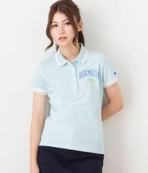 Jun and Ropé - ジュン アンド ロペ   MILLION ICE刺繍ポロシャツ