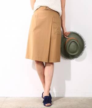 ROPÉ - ロペ | 【トールサイズ】フロントタックストレッチタイトスカート