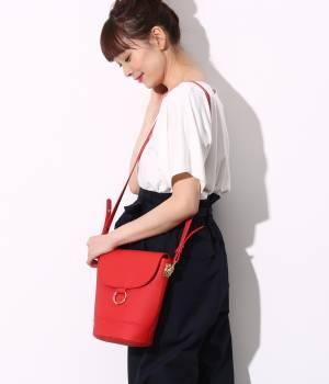 ViS - ビス | 【sweet4月号掲載】リングポイントミドルバケツショルダーバッグ