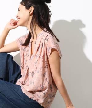ViS - ビス | フラワープリントスキッパーシャツ