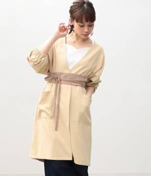 ViS - ビス | タックボリューム袖コート