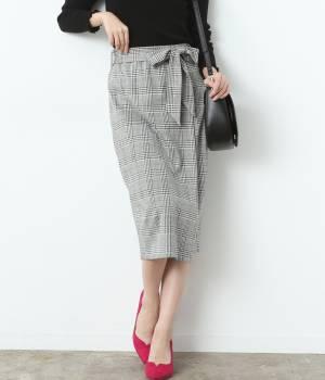 ViS - ビス | 【WEB限定】グレンチェックタイトスカート