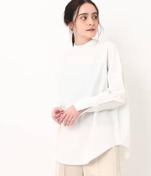 SALON adam et ropé WOMEN - サロン アダム エ ロペ ウィメン | 2WAYスタンドカラーシャツ