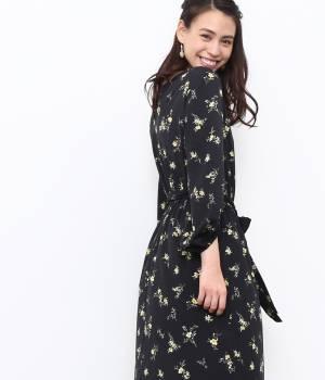 ROPÉ PICNIC - ロペピクニック | 花柄ミモレ丈ワンピース