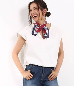 ROPÉ mademoiselle - ロペ マドモアゼル   ニュアンス2WAYノースリーブシャツ