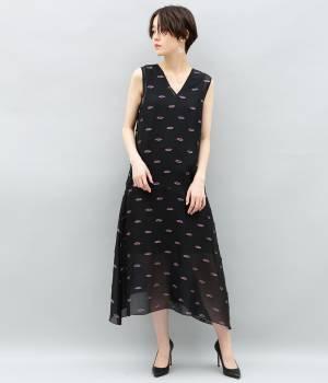 ADAM ET ROPÉ FEMME - アダム エ ロペ ファム | ランバスラメカットジャガードドレス