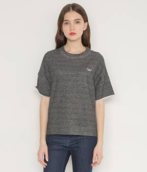 MAISON KITSUNÉ PARIS WOMEN - メゾン キツネ ウィメン | JAPANESE SWEAT-SHIRT SHORT SLEEVES