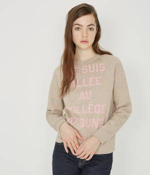 MAISON KITSUNÉ PARIS WOMEN - メゾン キツネ ウィメン | SWEAT JE SUIS ALLEE