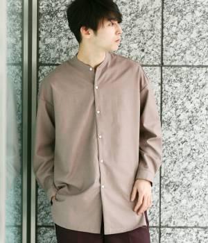 JUNRed - ジュンレッド | 【予約】バンドカラーTRロングシャツ