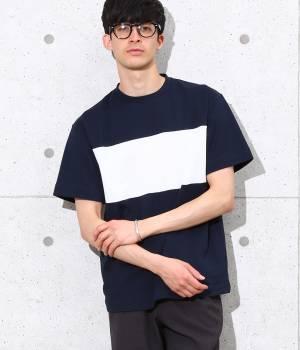 ADAM ET ROPÉ HOMME - アダム エ ロペ オム | 【先行予約】ライン切り替えTシャツ