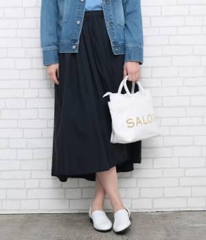 SALON adam et ropé WOMEN - サロン アダム エ ロペ ウィメン | 【着丈が選べる!】ギャザースカート(ミドル丈)