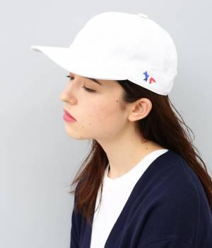 MAISON KITSUNÉ PARIS MEN - メゾン キツネ メン | 【予約】CAP 6P TRICOLOR FOX
