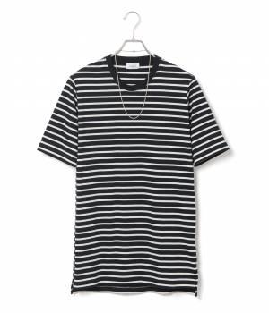 JUNRed - ジュンレッド | ナノファインボーダーロングTシャツ