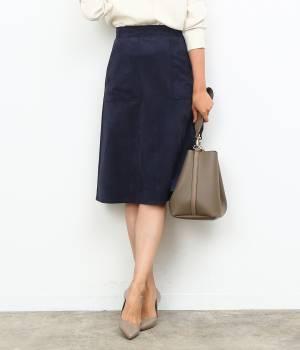 ROPÉ - ロペ | 【トールサイズ】トリコットスエード台形スカート