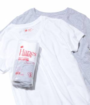 SALON adam et ropé WOMEN - サロン アダム エ ロペ ウィメン | 【HANES】T-SHIRTS Japan Fit 2PAC FOR HER (クルーネック)