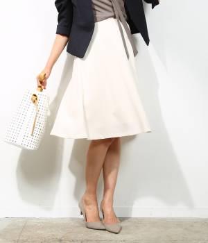 ROPÉ - ロペ | 【Oggi6月号掲載】【トールサイズ】シルージュフレアスカート