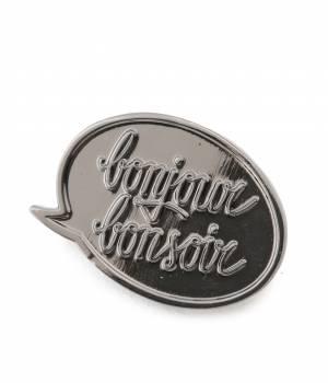 bonjour bonsoir - ボンジュールボンソワール | 【bonjour bonsoir】METALIC PINS