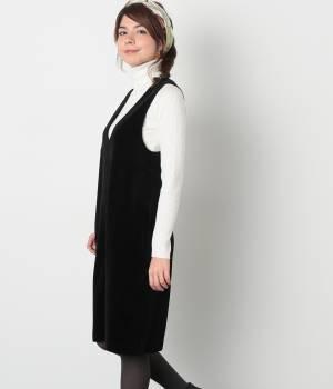 ROPÉ PICNIC - ロペピクニック   【steady.1月号掲載】コーディロイベロアジャンパースカート