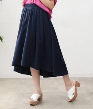 ViS - ビス | 【ただいまセール開催中】【sweet4月号掲載】【sweet×ViSコラボ】ラウンドヘムギャザースカート