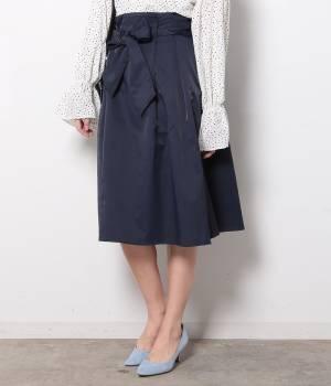 ViS - ビス | リボン付きハイウエストスカート