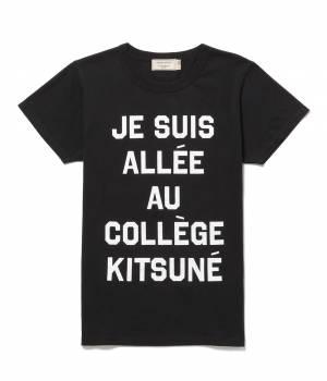 MAISON KITSUNÉ PARIS MEN - メゾン キツネ メン | PERM TEE SHIRT JE SUIS ALLEE