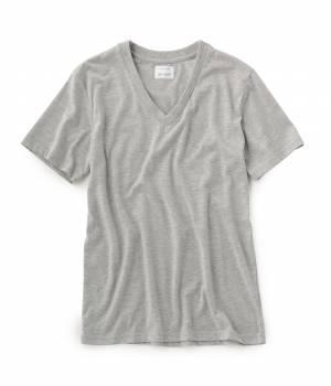 LE JUN MEN - ル ジュン メン | 天竺VネックTシャツ