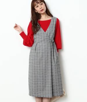 ViS - ビス | 【予約】ラップジャンパースカート