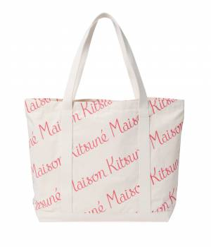 MAISON KITSUNÉ PARIS WOMEN - メゾン キツネ ウィメン | SHOPPING BAG ALL-OVER MAISON KITSUNE