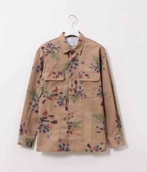 ADAM ET ROPÉ HOMME - アダム エ ロペ オム | 【AZU KIMURA×ADAM ET ROPE'】flower printed shirt